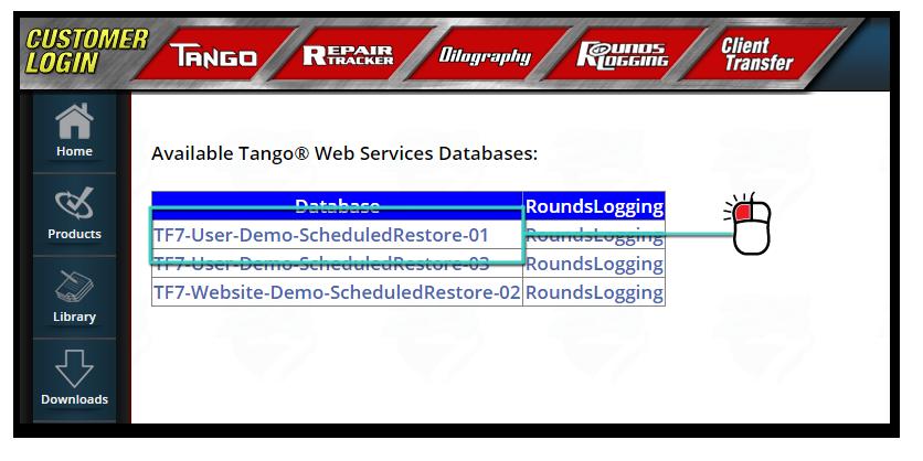 Tango™ - Webservice Quick Start
