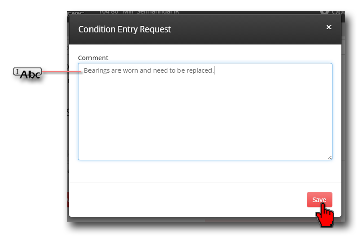 Condition Entry Request