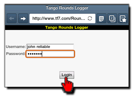 Roundslogging Login